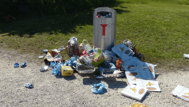 Slimme afvalbakken